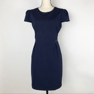 Anthropologie {tl} The Letter Navy Dress L